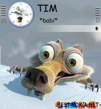 Scratt Theme - Symbian OS 9.1
