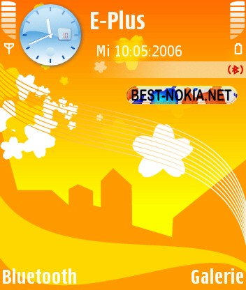 City Theme - Symbian OS 9.1