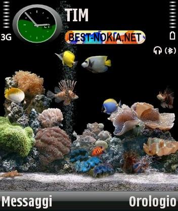 Acquario Theme - Symbian OS 9.1