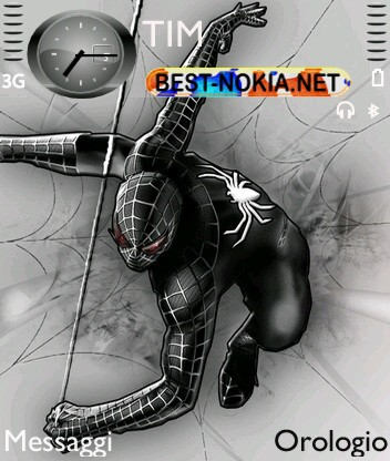 Dark Spiderman [240x320] - Symbian OS 9.1