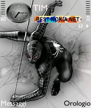 Dark Spiderman [320x240] - Symbian OS 9.1