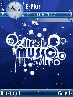 Life Is Music [240x320] - Symbian OS 9.1