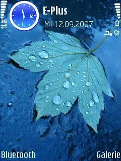 Falling Leaf - Symbian OS 9.1
