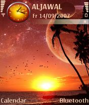 Alien Sunset - Symbian OS 9.1